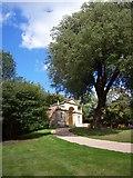 SU9085 : The Blenheim Pavilion, Cliveden by Len Williams