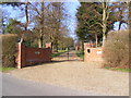 TM3878 : The entrance to Wissett Hall by Geographer