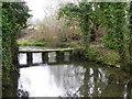 SU0826 : Clapper bridge, Bishopstone by Maigheach-gheal