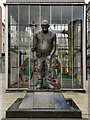 SD7109 : Fred Dibnah Statue by David Dixon