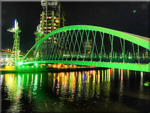 SJ8097 : Lowry Bridge by David Dixon