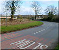 ST9997 : Three-armed signpost, Kemble by Jaggery