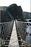 D0644 : Carrick-a-Rede Rope Bridge by Graham Hogg