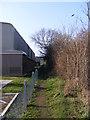 TM3976 : Swan Lane footpath by Adrian Cable