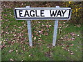 TM2445 : Eagle Way sign by Geographer