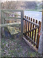 TM3765 : Stile & Gate to the A12 Saxmundham Bypass by Adrian Cable