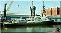 "J3475 : The ""Lone Ranger"", Belfast by Albert Bridge"