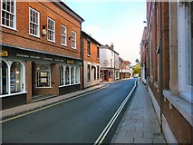 SU3521 : Romsey - Bell Street by Chris Talbot