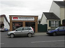 H6357 : McGarvey's Calor Shop, Ballygawley by Kenneth  Allen
