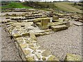 NY7766 : Temple to Jupiter Doilchenus, Vindolanda by Andrew Curtis
