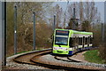 TQ3468 : Tram in South Norwood Country Park by Peter Trimming
