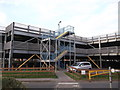 TQ7767 : Multi-storey Car Park, Medway Maritime Hospital by David Anstiss