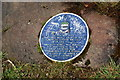 SD6528 : Blue plaque at the top of Billinge Hill by Bill Boaden