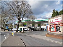 SX9066 : Service station in Hele Road by Richard Dorrell