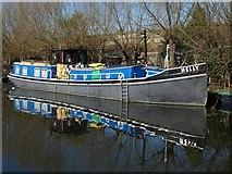 TQ2282 : Nelly on Grand Union Canal by Derek Harper