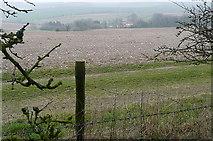 SU4955 : Above Ashley Warren Farm by Graham Horn
