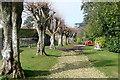 SU4857 : Footpath through Sydmonton Court estate by Graham Horn