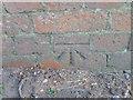 SU0831 : Bench Mark, Ugford Farm by Maigheach-gheal
