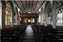 SX3384 : Church of St Mary Magdalene, Launceston by Philip Halling
