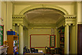 TQ2549 : The Dome Room, Reigate Priory by Ian Capper