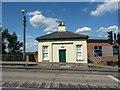 SK8189 : Trent Bridge toll house by Richard Croft