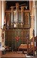 TL4502 : St John the Baptist, Epping - North aisle by John Salmon