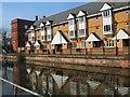 SU7273 : Reflections in Kennet & Avon Canal by Paul Gillett