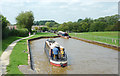 SJ8156 : Trent and Mersey Canal at Lawton Treble Locks, Cheshire by Roger  Kidd