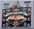 J3373 : 36th Ulster Division mural, Belfast by Albert Bridge