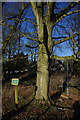 SK1752 : Cyclist's memorial, Tissington by Ian Taylor