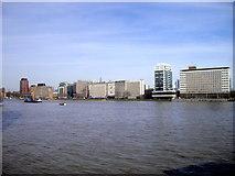 TQ3078 : River Thames and The Albert Embankment London by PAUL FARMER
