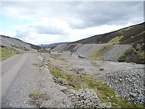 NY9700 : The site of Old Gang Smelting Mill by Christine Johnstone