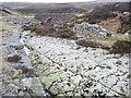 NY9601 : Limestone pavement above Level House Bridge by Christine Johnstone