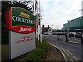 TQ2941 : Entrance to Courtyard Marriott Hotel, Gatwick by Christine Matthews