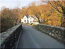 SH7357 : Pont Cyfyng by Chris McAuley