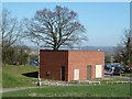 SP0564 : Alexandra Hospital, Redditch - outbuilding by Chris Allen