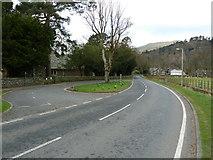 NY3916 : A592 north of St Patrick's Church, Patterdale by Alexander P Kapp