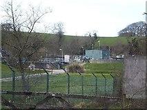 SW9873 : Wadebridge Sewage Works by David Smith