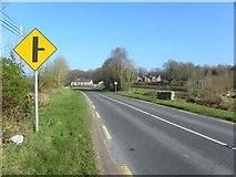 H2118 : Road at Meenaghan by Kenneth  Allen