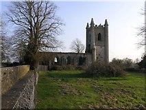 S0318 : Tubbrid Church ruin by Hywel Williams