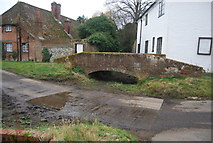 TR1955 : Footbridge and ford, Patrixbourne by N Chadwick