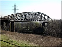 "SE4326 : The ""Iron Bridge"" at Castleford by derek dye"