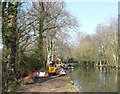 SU8956 : Guardians of the Basingstoke Canal at Frimley Green by Christine Johnstone