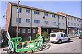 SU5289 : Block of flats, Abbott Road by Roger Templeman
