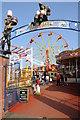 SO8071 : The Riverside Amusement Park by Philip Halling