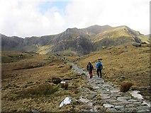 SH6459 : The path to Llyn Idwal by Chris McAuley