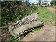 TQ1372 : Seat in Crane Park by Marathon