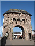 SO5012 : Monnow Bridge, Monmouth by Chris Andrews