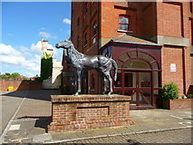 SU3521 : Romsey - Horse by Chris Talbot