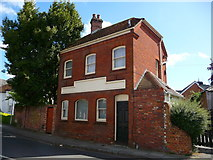 SU3521 : Romsey - Former Public House by Chris Talbot